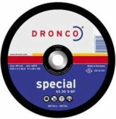 Dronco Doorslijpschijf - 230 mm Metaal Superflex