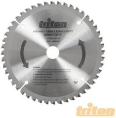 Triton HM zaagblad 165x20xZ=48 wt