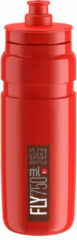 Elite - Fly 750 ml - Fietsbidon maat 750 ml, rood