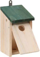 Beige VidaXL Vogelhuisjes 4 st 12x12x22 cm hout