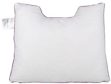 Afbeelding van Cinderella Rondo Synthetisch Medium Hoofdkussen - 100% Thermosoft Holle Polyester Vezelbolletjes - Wit