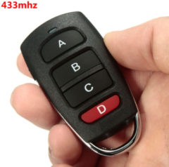 Meco Universal Cloning Cloner 433mhz Electric Gate Garage Door Remote Control Key Fob