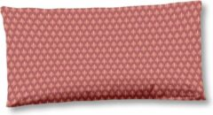 Rode 2x Trendy Katoen/Satijn Sierkussenhoezen | 40x80 | Subtiele Glans | Luxe En Zacht
