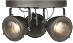 LABEL51 - LED Spot Moto 3-Lichts 29,7x29,7x16,3 cm Burned Steel Metaal