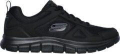 Skechers Track Solid heren sneakers - Zwart - Maat 43