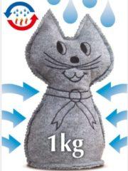 Raumentfeuchter Katze Wenko grau