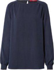 Marineblauwe S.oliver blouse Navy-42 (Xl)