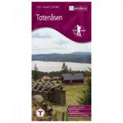 Nordeca - Wander-Outdoorkarte: Totenåsen 1/50 Auflage 2007