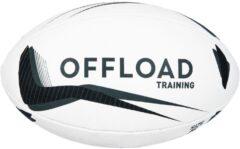 Grijze Offload Rugbybal R300 maat 5 zwart