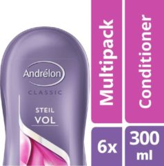 Andrélon Steilvol - 6 x 300 ml - Conditioner - Voordeelverpakking