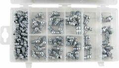 JBM Tools | Metrische smeernippel vetnippel assortiment 110-Delig
