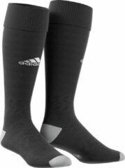 Grijze Adidas Milano 16 Sportsokken - Maat 43-45 - Unisex - zwart/wit/grijs
