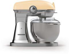 Creme witte Schneider SCFP57 C Retro Keukenmachine Creme