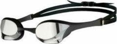 Zilveren Arena Cobra Ultra Swipe zwembril (spiegelglazen) - Zwembrillen