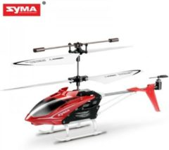 Helicopter SYMA S5 3-Channel Infrared with Gyro (Red) - Syma Toys