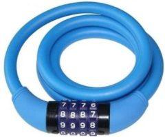 Cycle Tech Kabelslot Cijfercombinatie 1200 X 12 Mm Blauw