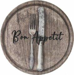 MD-Entree MD Entree - Keukenloper - Cook&Wash - Bon Appetit Wood - 67 cm Ø