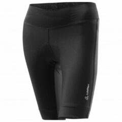 Löffler - Women's Bike Short Tights Tour - Fietsbroek maat 36, zwart