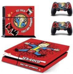 Rode Generic Fallout Skin Sticker - Playstation 4