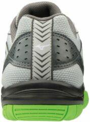 Mizuno Cyclone Speed 2 Sportschoenen - Maat 33 - Unisex - grijs/donkergrijs/lime groen