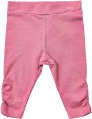 Roze Minymo - baby legging - model hai - mellow mauve legging - Maat 62