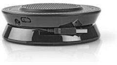 Nedis Conference Speaker | 2.5 W | Touch-Bediening | USB-Gevoed | Zwart