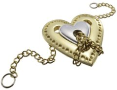 Huzzle Breinbreker Cast Heart Zilver/goud
