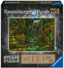 Blauwe Ravensburger Escape 2 Tempel Ankor Wat Puzzel 759 stukjes