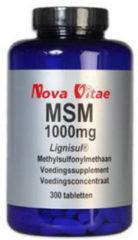 Nova Vitae MSM 1000mg Tabletten 300 st