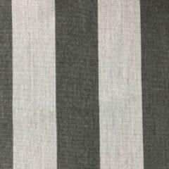 Donkergrijze Agora -Lines Grafito 1220 gestreept licht grijs donker grijs stof per meter buitenstoffen, tuinkussens, palletkussens