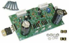 "Kit 200 W versterker Velleman K8060 (Bouwpakket) 2 x 25 - 30 V/ACFrequentiebereik: 3 Hz - 200 kHzUitgangsimpedantie: 4 - 8 â""¦1 stuks"
