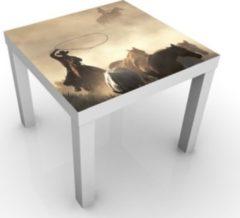 PPS. Imaging Kindertisch Cowboys - Tisch Braun