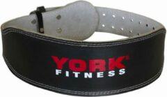 Rode York Fitness | lederen gewichthefriem. Sterk en goede kwaliteit leer.