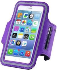 Qatrixx Sports armband case Paars Purple voor Apple iPhone 7 Plus