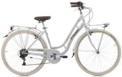 Cicli Cinzia 28 ZOLL CINZIA MIA CITY FAHRRAD 6-GANG Citybike Damen weiß