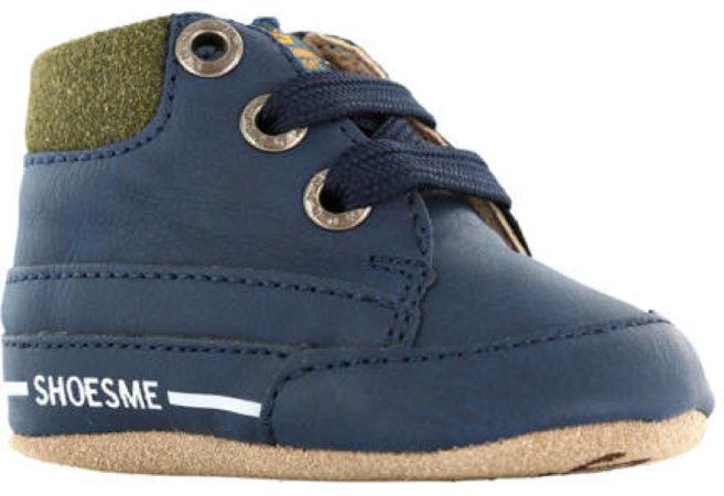 Afbeelding van Donkerblauwe Shoesme Jongens Slofjes - Marino - Maat 17