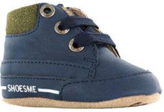 Donkerblauwe Shoesme Jongens Slofjes - Marino - Maat 17