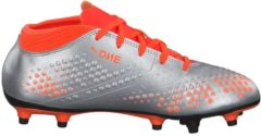 Fußballschuhe PUMA ONE 4 Syn FG Jr mit stabilisierender Funktion 104782-01 Puma Puma Silver-Shocking Orange-Puma Black