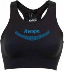 Kempa Attitude Pro Top Dames - Zwart / Blauw - maat M/L