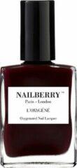 Rode Nailberry L'Oxygéné Nagellak 12 Free - Noirberry