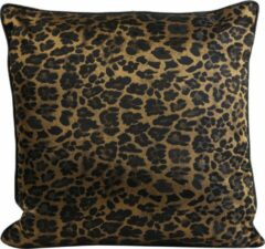 Light & living Light&Living Kussen LEOPARD bruin goud 45 x 45