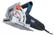 Blauwe FERM Lamellenfrees 900W uitgebreide instelmogelijkheden, aluminium voetplaat - incl. 50 lamellen en opbergkoffer