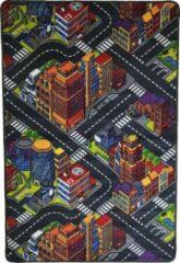 Dywanik Speelkleed - Verkeerskleed - speeltapijt - Stratentapijt - Smart City 100 x 150 cm - Design 13