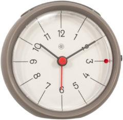 NeXtime Alarmklok nXt Otto Ø 9,5 x 3.8 cm grijs