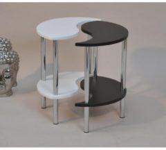 Möbel direkt online Moebel direkt online Beistelltisch Tisch Yin / Yang Tisch mit 2 Ablagen