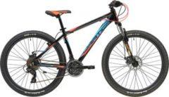 27,5 Zoll Herren Mountainbike 21 Gang Adriatica... schwarz-blau, 38cm