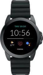 Fossil FTW4047 Horloge Gen. 5E Sport Smartwatch siliconen band 42 mm