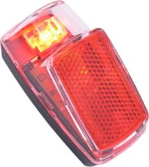 Rode Achterlicht spatbord Edge Vida - 1 led - inclusief batterijen (bulk verpakking)