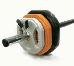 Toorx Fitness Toorx Bodypump Halterschijven - Per 4 Stuks - 4x 1.25 Kg Grijs