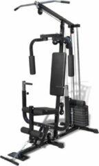 Zwarte VidaXL Multifunctionele home gym fitnessmachine
